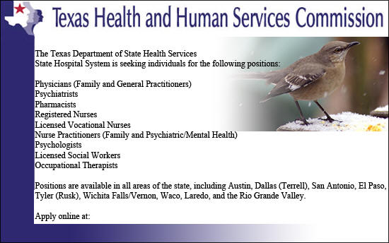Texas Health And Human Services Commision